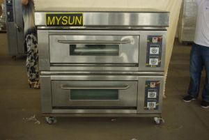 Mysun Industrial Used Deck Oven for Baking Machine pictures & photos