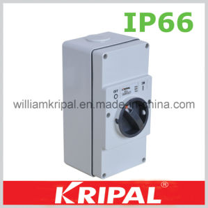 2 Gang 3p 10A Weather Protected Isolator pictures & photos