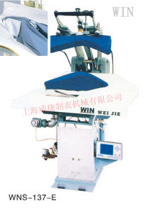 High Efficiency Computer Control Suit Press Machine (Buttock Seam) with Super Ironing Effect