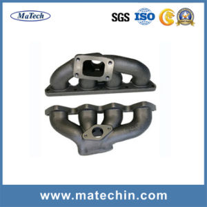 Custom Made Ductile Iron Casting Ggg40 Exhaust Manifold pictures & photos