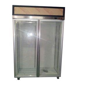 Low Temperature Glass Display Refrigerator (-18~-22C) pictures & photos