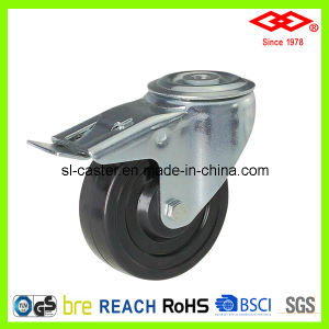 Hard Rubber Industrial Caster Wheel (G106-53B075X32S) pictures & photos