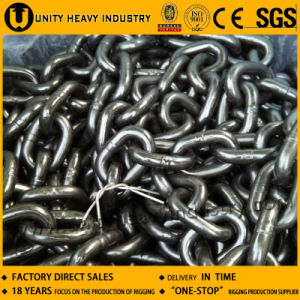 Electro Galvanized High Strength Hatch Cover Chain pictures & photos