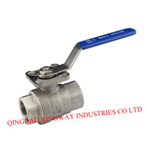 2-PC Ball Valve with Mounting Pad ISO5211