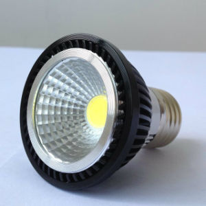 New Black Aluminum COB LED Lamp E27 pictures & photos