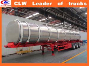 50m3 Stainless Steel Diesel Tanker Trailer 30ton Oil Tanker Trailer pictures & photos