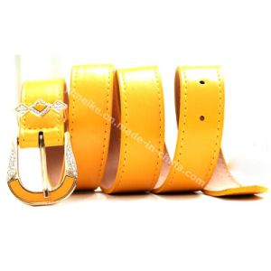 Hot Fashion Lady Skinny PU Belts pictures & photos