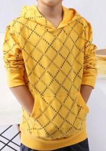 2014 Children Fashion Custom Cotton Printing Long Sleeves T-Shirt (YHR-13130)