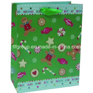 Customized Designs Christmas Paper Bags pictures & photos