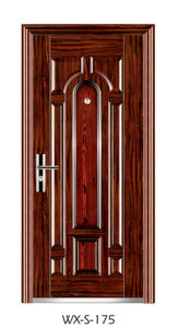 High Quality Steel Security Door (WX-S-175) pictures & photos