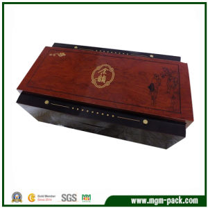 Top Grade Wooden Material Packing Tea Box pictures & photos