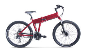26 Foldable Mountain E Bike with Hidden Battery pictures & photos