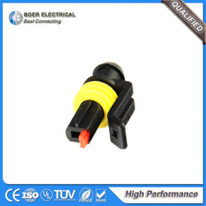 1pole Automotive Wire Harness Electrical Wiring HID Superseal Connector 282103-1 pictures & photos