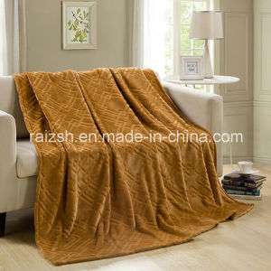 Gold Mink Blanket Warm Blanket Leisure Blanket Single or Double