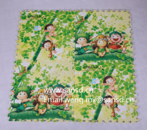 Toread Puzzle Mat Non-Toxic EVA Kids Mat Cute Cartoon Puzzle Mat pictures & photos