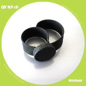 Adjustable Silicone Slap RFID/NFC Wristbands for RFID Systems pictures & photos