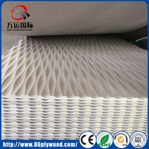 TV Wall 3D MDF Wall Panel Raw MDF pictures & photos