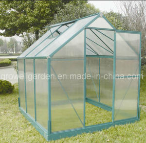 4mm Growell Walk -in Polycarbonate Greenhouses W6 pictures & photos