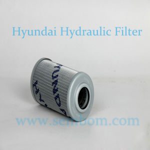 High Performance Hydraulic Oil Filter for Hyundai Excavator/Loader/Bulldozer pictures & photos