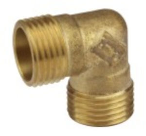Flow Aperture Threaded Brass Male Elbow Copper Tb-33 pictures & photos