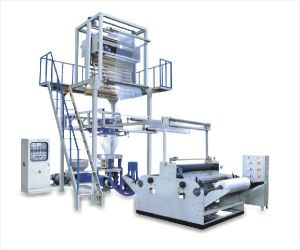 High Speed Rotary Die Two Layer Film Extrusion Machine Sj-55*2/FM1500 pictures & photos