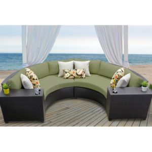 Well Furnir Rattan 4 Piece Sectional Seating Group with Cushion WF-17050 pictures & photos
