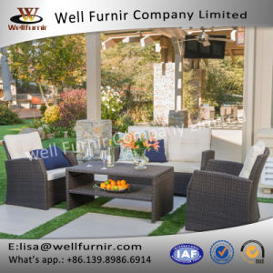 Well Furnir Wicker 4 Piece Deap Seating Group with Cushions pictures & photos