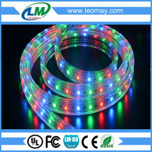 Eco- Friendly High Voltage 3528 60LEDs RGB LED Strip pictures & photos