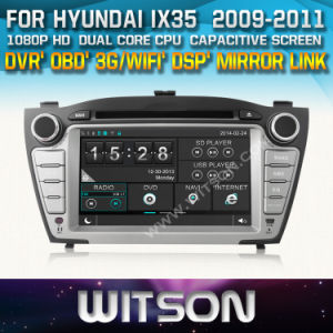 Witson Car Radio with GPS for Hyundai IX35 (W2-D8255Y) pictures & photos