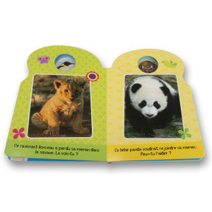 Custom Board Book, Special Shape, Children Book (OEM-EH313) pictures & photos