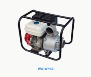 Large Displacement 389cc 13HP 4inch 25m 188f Cheep Gasoline Water Pump Wx-Wp40 pictures & photos
