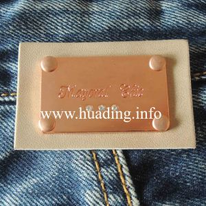 Customized Leather Patch for Jeans (PA-10) pictures & photos