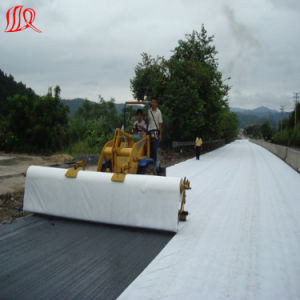 Waterproof Non Woven Geotextile in Fish Pond pictures & photos