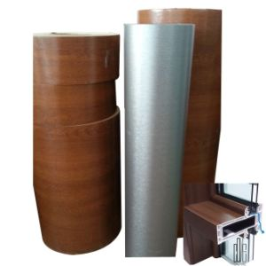 Anti-UV Outdoor Use Lamination PVC Film for Windows/Doors/ Panels pictures & photos