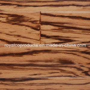 Attractive Zebrano Engineered Wood Flooring Tile Building Material Floor