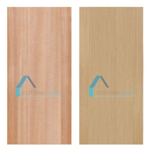 Flat Red Walnut Popular High Quality HDF MDF Door Skin pictures & photos