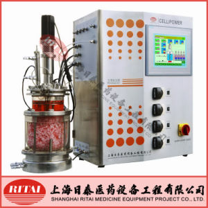 Df-Bed (FIXED-FLUIDIZED BED) Fiber Disk Cell Cultere Bioreactor -Glass Type (CELLIPOWER08)