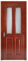 Top Brand Entrance Glass Wooden Door for Villa pictures & photos