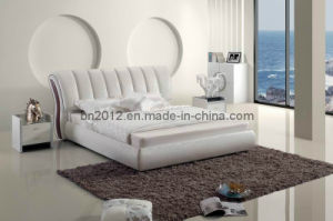 Modern Leahter Bed (SBT-5827) pictures & photos