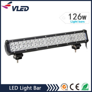 "20"" 126W 10080lm Dual Rows LED Offroad Light Bar pictures & photos"