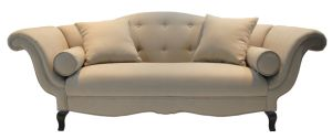 French Style Fabric Sofa Wooden Sofa (SF-2852)