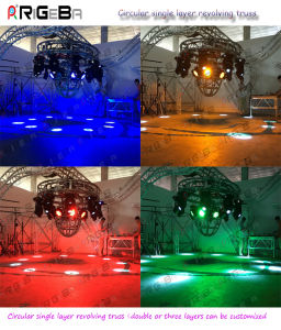 Manufacturer Do Customized Circular Revolving Bolt Truss for Nightclub pictures & photos