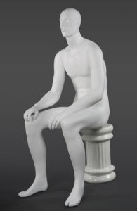 Fiberglass Mannequin Male with Sittting Pose pictures & photos