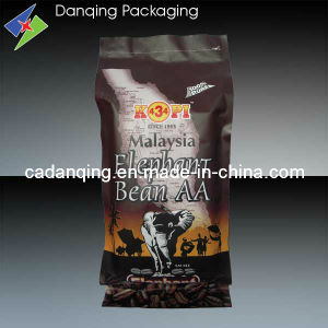 Danqing Custom Printing Plastic Coffee Packaging Bag with Valve pictures & photos