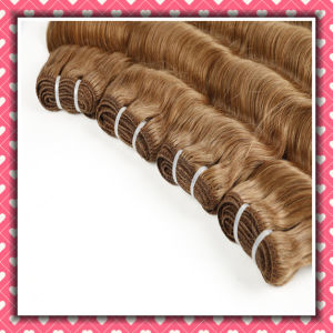 Peruvian Virgin Remy Hair Wavy Hair Loose Deep 10inch pictures & photos