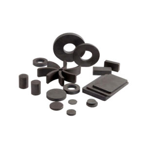 High Quality (20*3mm) Sintered Ferrite Magnet pictures & photos
