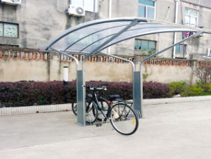 Five Spaces Bike Steel Rack with Shelter Carbon Steel pictures & photos