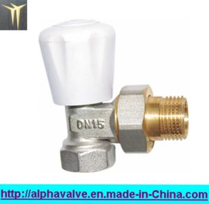 Brass Radiator Valve with Handle (a. 0155)