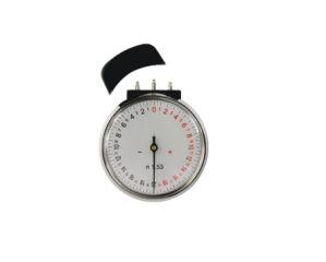 N1.53 Lens Clock / Radian Gauge with Stainless Steel Gauge