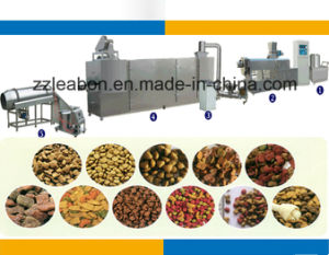 Full Automatic Small Pet Food Pellet Production Making Machinery pictures & photos